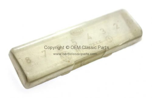 commercial fuse box 181937555a genuine vw used fuse box cover 8 fuse 181937555a split  genuine vw used fuse box cover 8 fuse